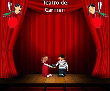 La Biblioteca Infantil y Juvenil acoge este sábado a las 12 horas la actuación del Teatro de Carmen dentro de los ''Sábados de Cuento''