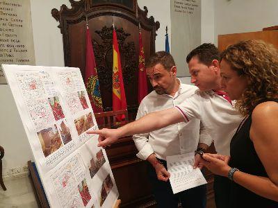El Ayuntamiento de Lorca pone en marcha una batería de demoliciones de viviendas expropiadas en el barrio de San Cristóbal