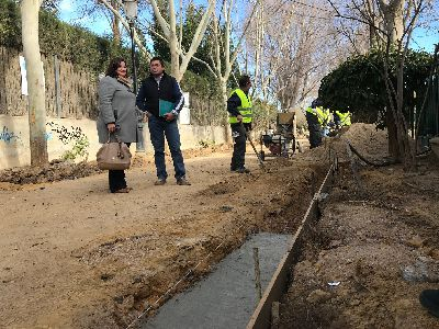 La Concejalía de Desarrollo Local amplía la mejora integral de Las Alamedas con una nueva inversión de 65.000 euros