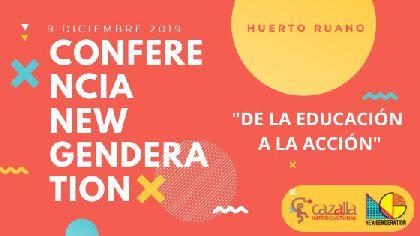 El Huerto Ruano acogerá la conferencia internacional ''NEW GENDERATION: educando a los jóvenes contra la violencia de género: de la educación a la acción'' el próximo 9 de diciembre