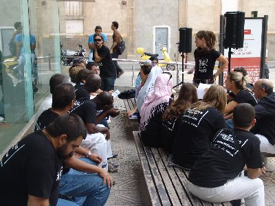La Biblioteca Viviente llega a Lorca por segundo año en busca de promover el dialogo intercultural