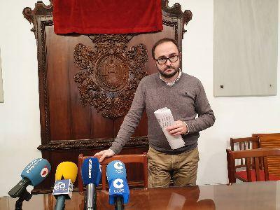La cifra oficial del número de habitantes de Lorca crece hasta las 94.404 personas siendo un 51,2 por ciento hombres y un 48,8 mujeres