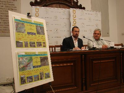Patrimonio Natural invertirá 220.000 euros para la mejora de infraestructuras del entorno natural de Lorca