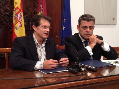 La recuperación del patrimonio lorquino dañado por los terremotos de 2011 recibe un nuevo impulso gracias al mecenazgo de El Corte Inglés