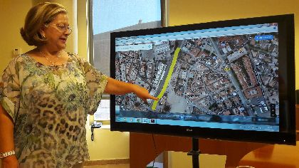 Las Concejalías de Obras y Urbanismo aceleran la mejora del sector 9R para que los vecinos del camino Marín cuenten con una vía más amplia, conectada con Alameda de Cervantes y dotada de aceras