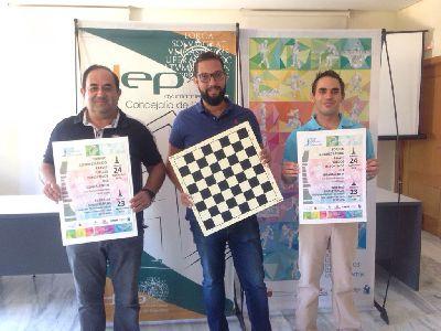 El ajedrez se convierte en uno de los grandes protagonistas de la XXXVIII edición de los Juegos Deportivos del Guadalentín de la mano del Club Ajedrez Lorca