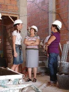 El nuevo local social de Doña Inés podría estar finalizado en los primeros días del mes de diciembre gracias al buen ritmo de las obras en marcha