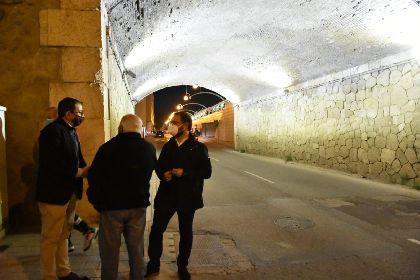 El Ayuntamiento renueva la iluminación del ''Puente de los Carros'' dando cumplimiento a las reivindicaciones vecinales