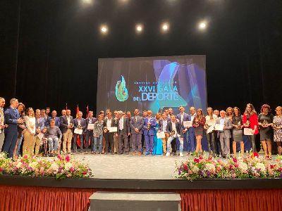 Lorca reconoce a sus mejores deportistas del 2019 en la ''XXVI Gala del Deporte'