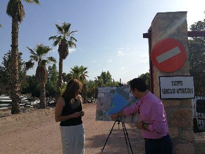 El Ayuntamiento de Lorca creará nuevas plazas de aparcamiento en un solar de propiedad municipal junto a la entrada principal del Hospital Rafael Méndez