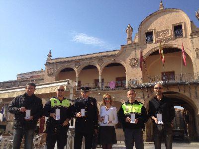 El Ayuntamiento de Lorca homenajeará y otorgará la Cruz al Mérito Policial de la ciudad a las familias de los policías locales con motivo del Día de San Patricio