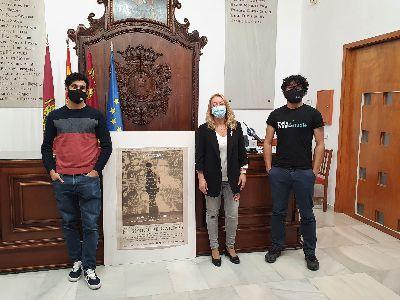 Los lorquinos Juan y Pedro Poveda presentan la producción de su documental, ''El siglo de Galdós''