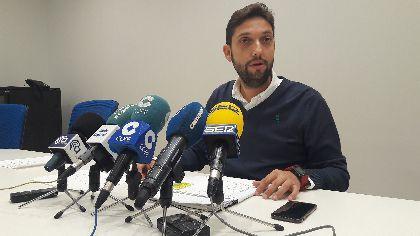 Lorca consigue un recorte histórico de la deuda municipal, reduciéndola en un 62,3%, (de 105,4 millones a 39,8), con una mejora diaria de casi 18.000 euros