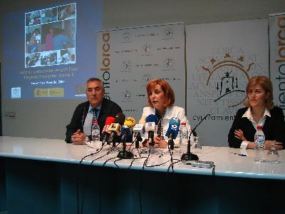 60 desempleados lorquinos se formarán desde hoy en ayuda a domicilio, respiro familiar hospedería y turismo rural, así como en animación infantil y mantenimiento