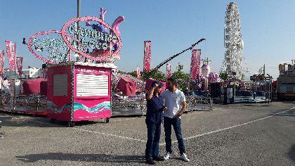 El dispositivo logístico para la Feria y Fiestas engloba 100.000 bombillas led, 55 proyectores, 4 transformadores eléctricos, 8 escenarios, 12.000 sillas, 11 casetas y 22 carpas