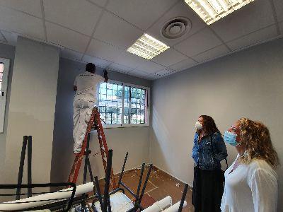 Las instalaciones de la Universidad Popular se renuevan gracias a los programas de formación municipales