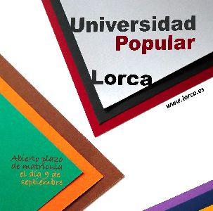 La Universidad Popular recupera los cursos que tuvieron que ser suspendidos debido al Covid