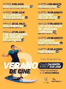 La película ''Yesterday'' pondrá mañana martes, 31 de agosto, el broche final a la programación ''Verano de Cine 2021''