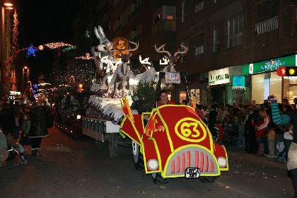 La cabalgata de los Reyes Magos provocará cortes de tráfico desde las 15:00 horas del lunes día 5 de Enero