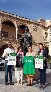 La Junta Local de la AECC y el Ayuntamiento organizan la III Marcha popular lorquina y ben�fica con motivo del D�a Mundial contra el C�ncer de Mama