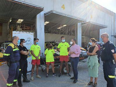 El Plan de Salvamento en el litoral lorquino cierra con 153 incidencias y un incremento en el número de bañistas