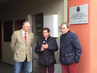 Francisco Jódar inaugura en la pedanía lorquina de Purias el único Centro de Enganches de la Región, creado sobre 25.000m2 de propiedad municipal