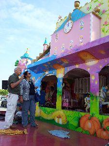 Todo listo en el Huerto de la Rueda para que el viernes empiece la Feria y Fiestas de Lorca