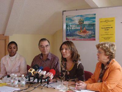 Cine Forum, conferencias y grupos de desarrollo, entre las actividades programadas por Amites Lorca para el curso 2008-09