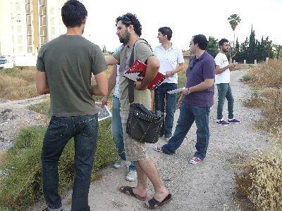 La Junta Asesora del Espacio Joven visita el emplazamiento donde será edificado su centro juvenil