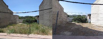 El Ayuntamiento dicta 11 expedientes de órdenes de ejecución de limpieza de solares en la pedanía de La Parroquia