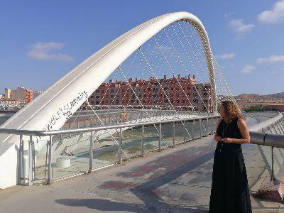 El Ayuntamiento de Lorca presenta al Servicio de Empleo y Formación un proyecto de recuperación y mejora de la Pasarela Alcalde Miguel Navarro