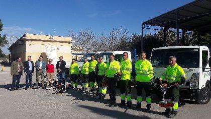 Lorca establece el dispositivo más ambicioso de la historia para la conservación y mejora de las zonas verdes de sus pedanías, triplicando la inversión y los trabajadores
