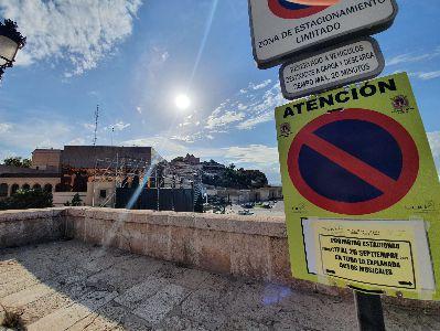 Se cortará el tráfico en el Puente de La Alberca y la carretera de La Fuensanta los días de conciertoen La Merced