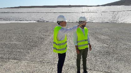 Las obras del nuevo vaso de gestión de residuos de Barranco Hondo culminarán este mes y situarán a Lorca como modelo de tratamiento y recuperación a nivel nacional