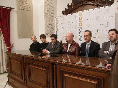 Las fundaciones más destacadas a nivel internacional del colectivo judío en materia cultural y de monumentos visitan la sinagoga de Lorca