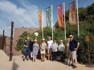 Turoperadores del Reino Unido especialistas en turismo escolar visitan la ciudad para conocer las ventajas con las que cuenta Lorca