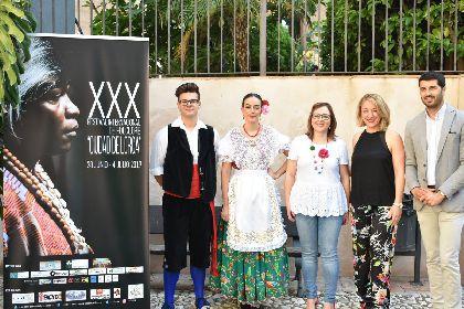 Lorca acogerá del 28 de junio al 3 de julio el XXX Festival Internacional de Folclore ''Ciudad de Lorca''