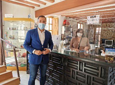 La Oficina de Turismo de Lorca reabre sus puertas adaptada a los protocolos higiénico-sanitarios