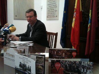 El Ayuntamiento de Lorca edita 16.000 programas, 6.000 Cortejos y 3.500 carteles al tiempo que potencia la promoción de la Semana Santa en provincias limítrofes