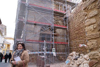 Las obras de rehabilitación del Porche de San Antonio costarán 89.503 ? y serán ejecutadas por una empresa lorquina