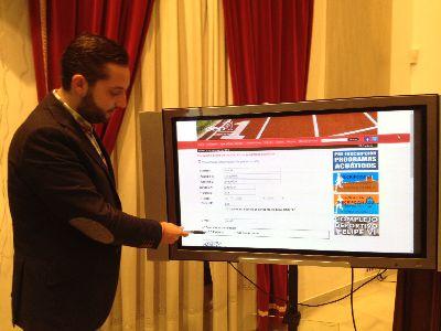 La Concejalía de Deportes de Lorca mejora el proceso de inscripción en los programas acuáticos poniendo en marcha un sistema de preinscripción por internet