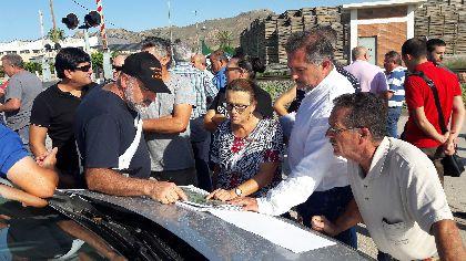 El Ayuntamiento solicita al Ministerio de Fomento que el cruce de la vía con los caminos Villaespesa y de Enmedio sea soterrado, y la mejora del drenaje para evitar inundaciones