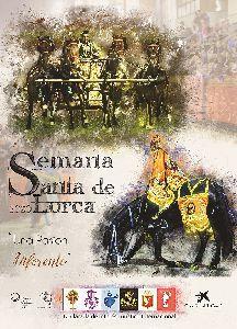 La obra ''Pasión de Fuerza y Elegancia'', de la diseñadora gráfica Carmen Muñoz Manchón, será el cartel promocional de la Semana Santa de Lorca 2020