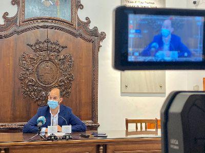 El Ayuntamiento solicita a la Consejería de Salud que habilite en Lorca la autocita para la vacuna contra la COVID