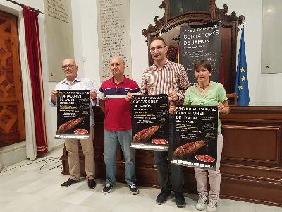 Este próximo viernes, 13 de septiembre, se celebrará el ''I Encuentro de Cortadores de Jamón a favor de AEMA III''