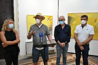El Palacete Huerto Ruano acogerá la muestra del artista lorquino Vicente Ruiz ''Homenaje al abrigo del Mojao''