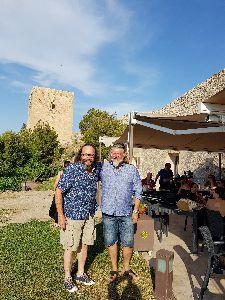 Los Hairy Bikers, famosos presentadores de la cadena británica BBC, llegan a Lorca en busca de las raíces de la cocina mediterránea