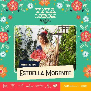 La cantaora Estrella Morente completa el cartel del ''Festival Viva Lorca'' cuya programación se reanudará en septiembre