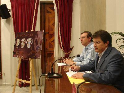 27 Artesanos lorquinos rinden homenaje al ceramista Inocencio Lario con una exposición en Huerto Ruano