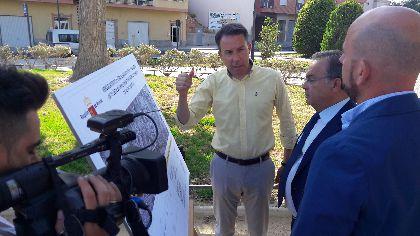 Una nueva inversión de 1,8 millones del Gobierno Regional para el barrio de San Cristóbal permitirá remodelar el acceso a la ciudad desde la carretera de Caravaca